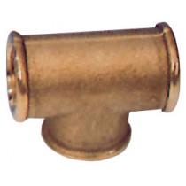 allpa brass T-fittings with internal thread