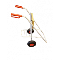 Aluminum trolley for outboard engine
