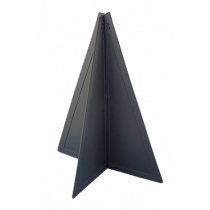 Plastic Two-piece Cone, 470x330mm, Black