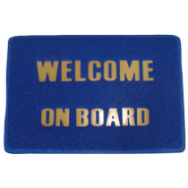 """Mat """"welcome on board"""""""