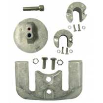 Aluminum Anode Kit Navalloy, Bravo-2, 1989 - Present & Bravo-3, 1989 - 2003