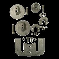 Aluminum Anode Kit Navalloy, Bravo-3, 2004 - Present