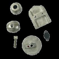 Aluminum Anode Kit Navalloy, Alpha-1-Gen I, 1983 - 1990