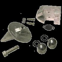 Aluminum Anode Kit Navalloy Alpha 1 Gen 1 (No Power)