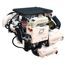 Hyundai Marine Diesel Engine S270P TURBO & intercooler, Technodrive Gear Box TM880A, Reduction 1.53:1