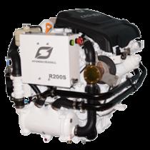 Hyundai Marine Diesel Engines R200 Intercooler & Fresh Water Cooling