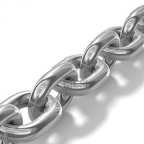 Stainless steel anchor chains