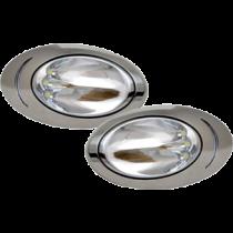 allpa surface mount stainless steel 316 high power LED hull light