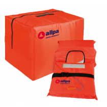 "Allpa safety bag including 4x life jacket model ""Norman"""