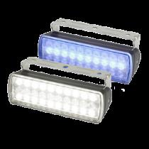 Hella Sea Hawk XL Search Light - width beam, black housing, IP67, 750 lumen (white 12W/blue 4W)