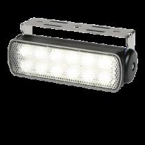 Hella Sea Hawk Search Light - width beam, black housing, IP67