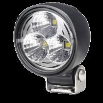 Hella Model 70 Search Light, LED 2100 lumen, width beam, black housing