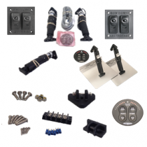 Separate parts electric trim tab system