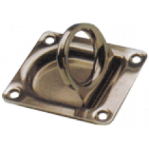 Stainless Steel Pull Ring, 55x65mm