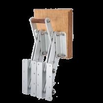 Aluminum Folding Outboard Motor Bracket ( max. 50kg ) ( with double Folding Frame )