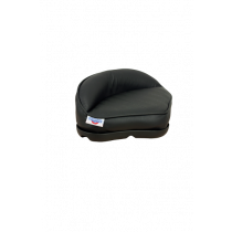Plug-in Pro Stand-Up Seat of Black Vinyl with Plastic Basis