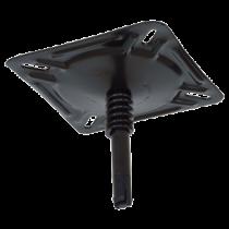 Schroefdraad Hi-Lo Turntable, Steel