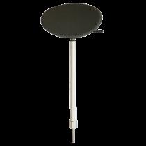 Control Post Kin-Pin Seat, Anthracene