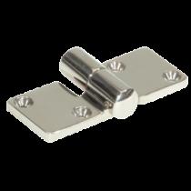 "Stainless Steel ""Take-Apart"" Hinge, 92x37mm, Ø5mm"