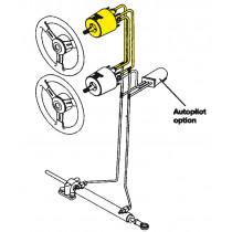 Seastar Set for Inboard Steering System 4 for 2nd Helm