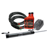 SeaStar Hydraulic Steering Kit for Outboards up to 350HP, side mount Cylinder