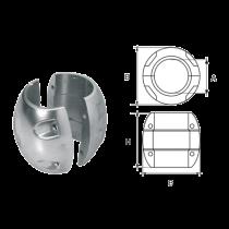 Aluminum Anoden for Propeller Shaft, spherical