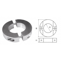 Zinc Anoden for Propeller Shaft, Ring shaped