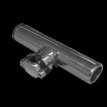Stainless steel fishing rod holder railing mount