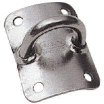 Stainless steel bended eye plate