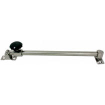 Stainless Steel Hatch Telescopic Opening Stay, A-min 300mm / A-max 430mm, B=13mm