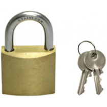 allpa Padlock made of Brass and Stainless Steel