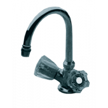allpa chromed plated mixer tap with swivel