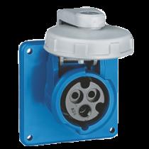 CEE-32A shore power receptable threaded sealing cover, 230V