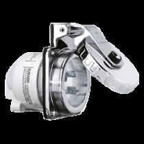 NEMA-32A-shore power inlet, stainless steel, 230V