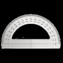 Plexiglass protactor 180°