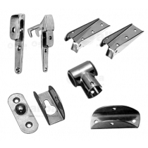 Parts and Fastening Bathing Ladders