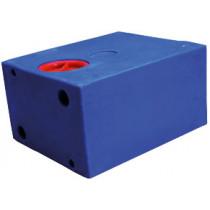 allpa Blue waste water tanks of polyethylene