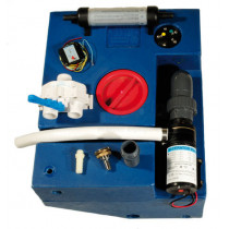 allpa complete waste- water-tank-kits with 12V macerator pump