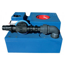 Waste-water-tank-kits with diaphragm pump