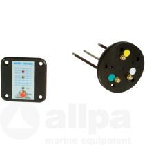allpa control panel with tank sender
