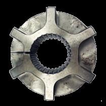 Hub damper plate 26-teeth, low profile H=37mm. Working length 31mm