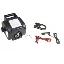 Electric trailer winch 12V, rotates one side