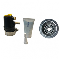 allpa rubber propeller shaft seal with water- and grease inlet
