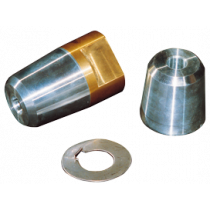 allpa Propeller Nut with Zinc Anode & Stainless Steel Ring