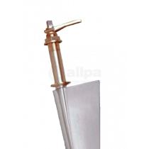 Transom mount rudders