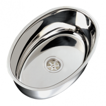 Stainless Steel Sinks, oval