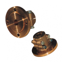 allpa Bronze Half-Couplings, with centering ring