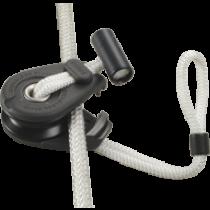 Antal aluminum Dyna snatch blocks with Dyneema snap loop