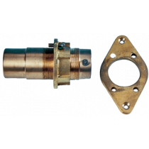 allpa Water lubricated Bronze outer Bearings with Contraflens, screw-on