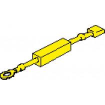 Dropping Resistor for Trim meters Johnson / Evinrude ( 24V-->12V )
